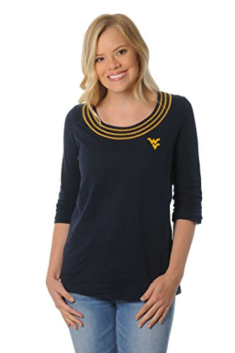 UG Apparel NCAA Frauen 'S Open Stitch Top, Damen, Navy, Medium von UG Apparel