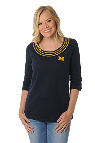UG Apparel NCAA Frauen 'S Open Stitch Top, Damen, Navy, XLarge von UG Apparel