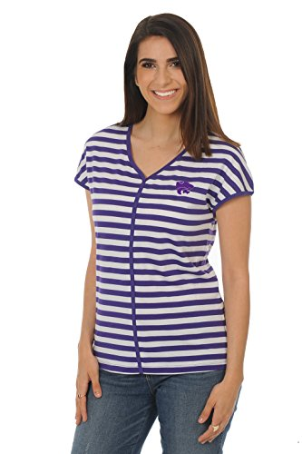 UG Apparel NCAA Kansas State Wildcats Adult Women Dolman Top, Small, Purple von UG Apparel