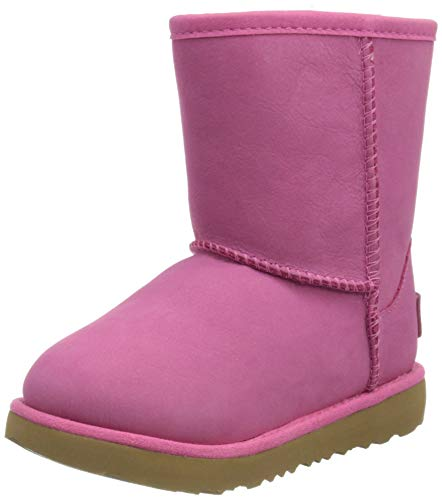 UGG Kid's Female Classic Weather Short Classic Boot, Pink Azalea, 3 (UK) von UGG