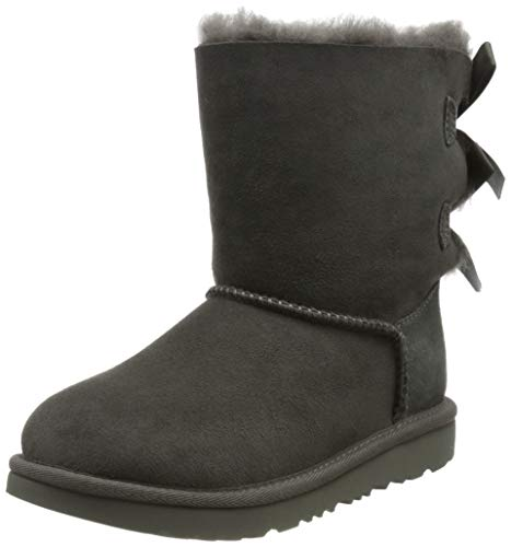 UGG Bailey Bow II Classic Boot, Grey, 31 EU von UGG