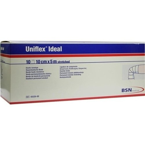 UNIFLEX ideal Binden 10 cmx5 m weiß lose 10 St Binden von UNIFLEX