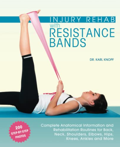 Injury Rehab with Resistance Bands: Complete Anatomy and Rehabilitation Programs for Back, Neck, Shoulders, Elbows, Hips, Knees, Ankles and More von Ulysses Press