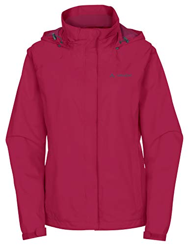 Vaude Damen Jacke Women's Escape Bike Light Jacket, Crimson Red, 36, 04992 von VAUDE