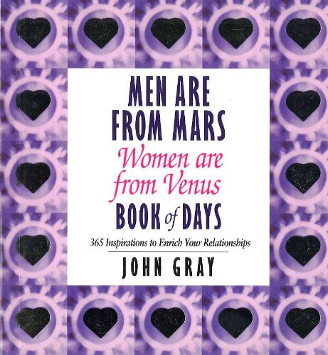 Men Are From Mars, Women Are From Venus Book Of Days von Vermilion
