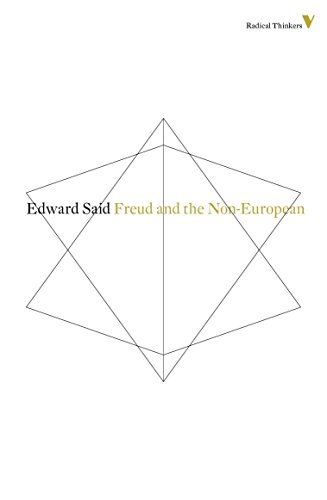 Freud And The Non-European (Radical Thinkers) von Verso