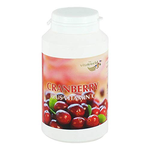 CRANBERRY PLUS C 400MG, 180 St von Vita World