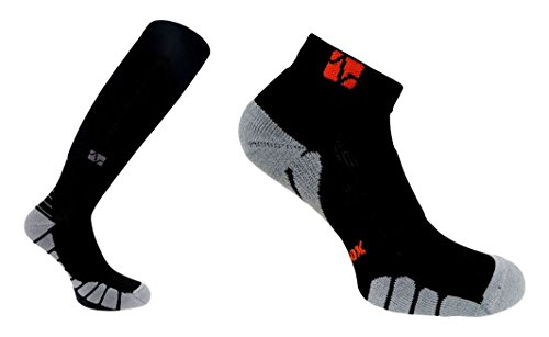 VitalSox Italy-Patented Compression VT1211,X-Large,Black von VitalSox