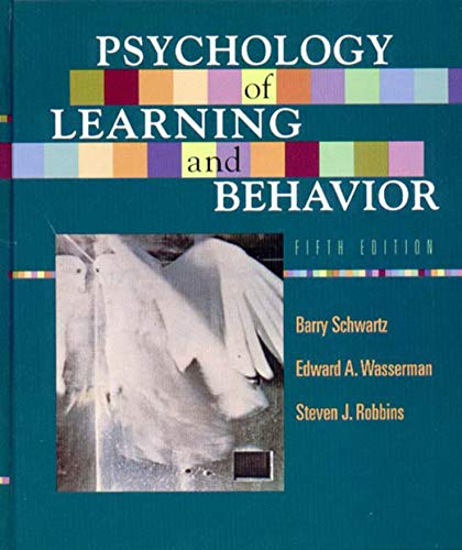 Psychology of Learning & Behavior 5e von Norton & Company