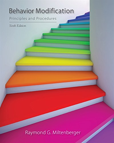 Behavior Modification: Principles and Procedures von Cengage Learning, Inc