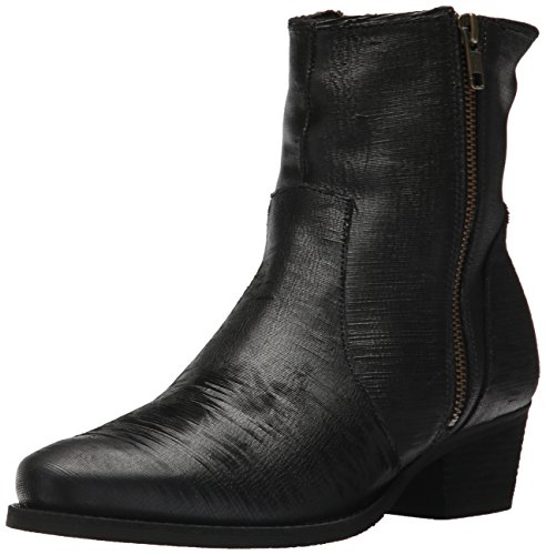 Walking Cradles Damen Giselle Stiefelette, Black Laser Leather, 36.5 XW EU von Walking Cradles