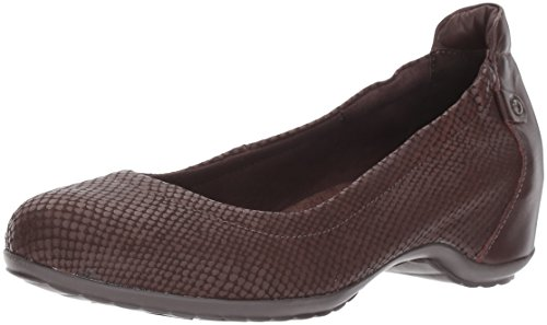 Walking Cradles Damen Kinley Halbschuhe, Braunes Mattes Leder, 39.5 EU von Walking Cradles