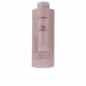 INVIGO BLONDE RECHARGE color refreshing shampoo 1000 ml von Wella