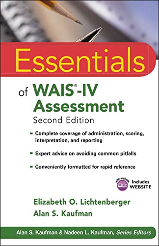 Essentials of WAIS-IV Assessment (Essentials of Psychological Assessment, Band 96) von Wiley