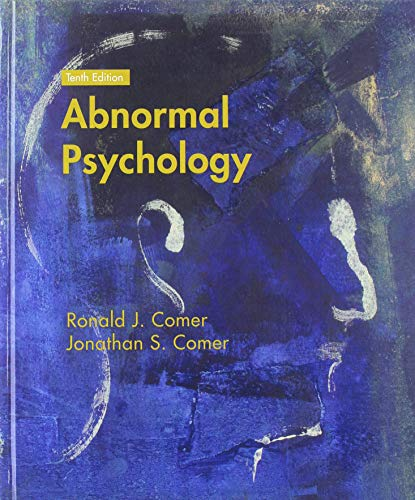 Abnormal Psychology von Worth