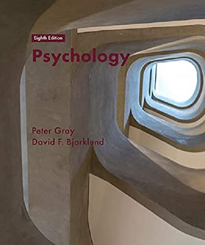 Psychology: 8th Edition von Macmillan Education