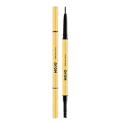 Wxhkj Augenbrauenstift,Professional Makeup Augenbrauenstift Double-Headed Eyebrow Pencil mit Pinsel wasserdicht langanhaltende Stirn von Wxhkj