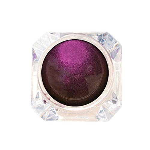 Wxhkj Eyeshadow, Eyeshadow Glitter Eyeshadow Powder Monochrome Diamond Eyeshadow High Pigmented Makeup Waterproof Eyeshadow for Party, Professional Family (B) von Wxhkj