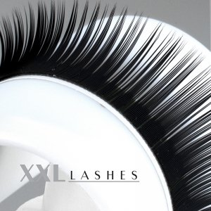 Mink Lashes - Silk Lashes xD Volume | 0,07 mm dick | 8 mm lang | C-Curl Size 09 mm von XXL Lashes