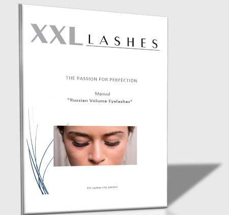 "XXL Lashes Trainings-Handbuch""Russische Volumen Technik"" Size English von XXL Lashes"