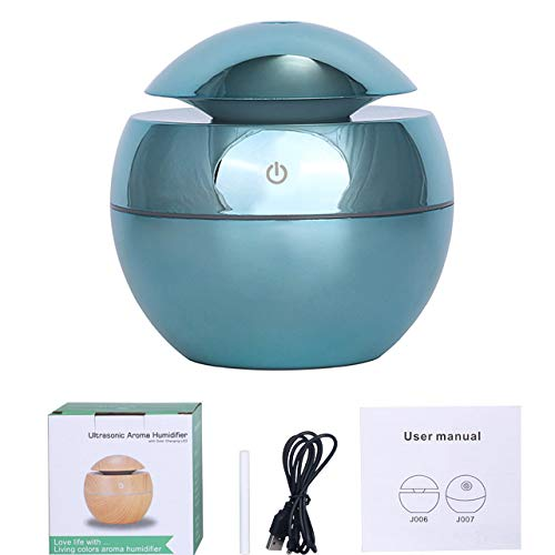 YHWW Luftbefeuchter,USB Aroma Essential Oil Diffuser Ultrasonic Cool Mist Humidifier Air Purifier 7 Color Change LED Night light for Office Home,Purple von YHWW
