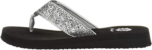 Yellow Box Damen Feliks Flipflop, Silber, 38.5 EU von Yellow Box