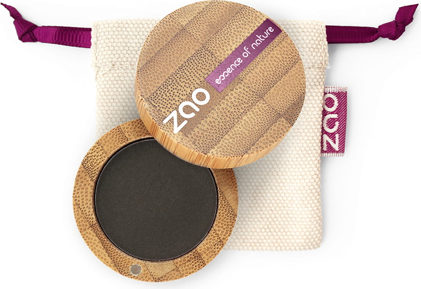 ZAO Matt Eyeshadow - 206 Black von ZAO