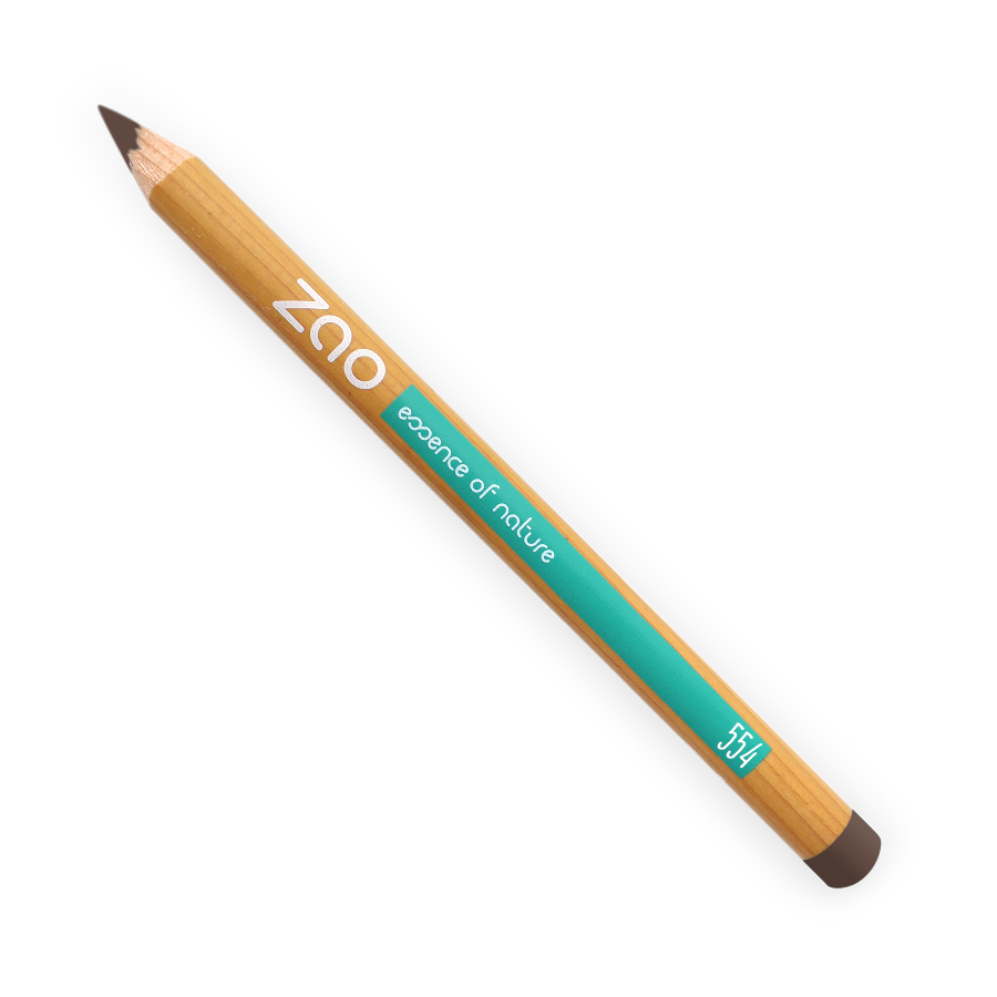 ZAO Multipurpose Pencils for Eyes, Brows & Lips - 554 Light Brown von ZAO