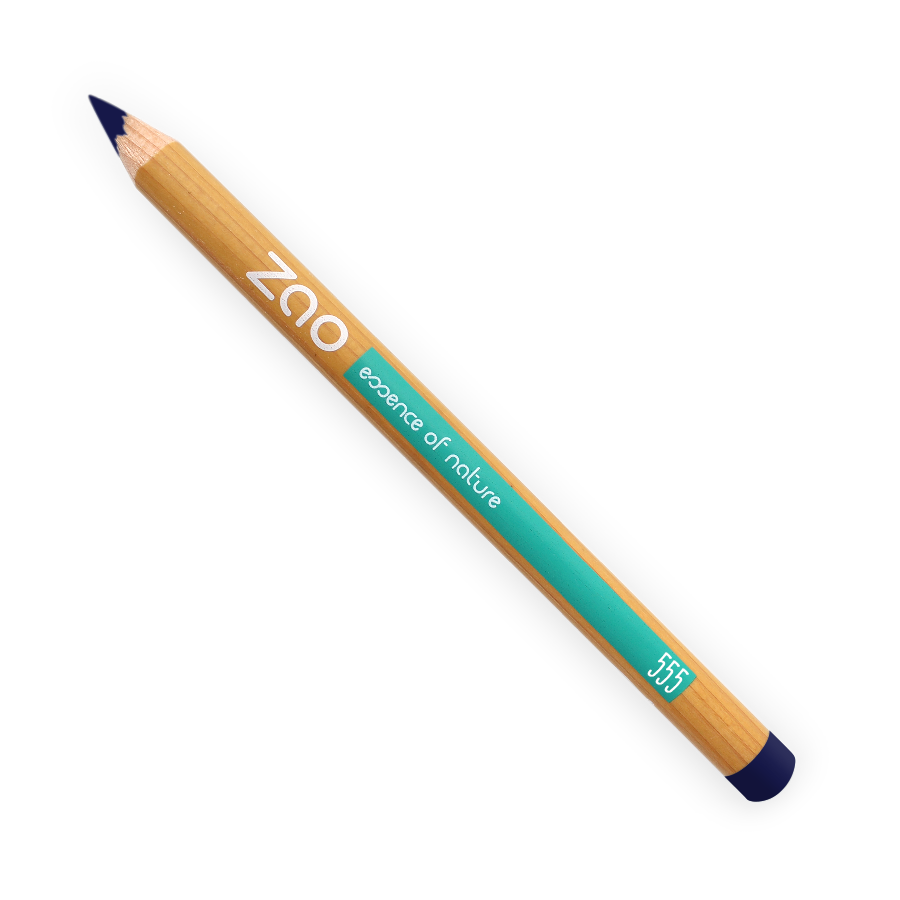 ZAO Multipurpose Pencils for Eyes, Brows & Lips - 555 Blue von ZAO
