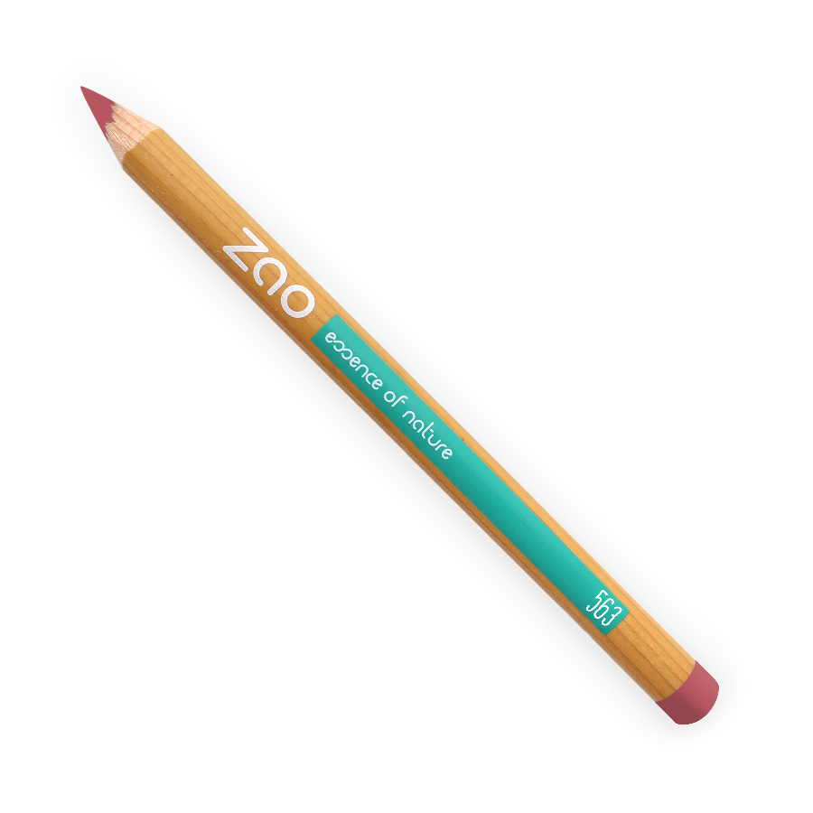 ZAO Multipurpose Pencils for Eyes, Brows & Lips - 563 Vintage Pink von ZAO