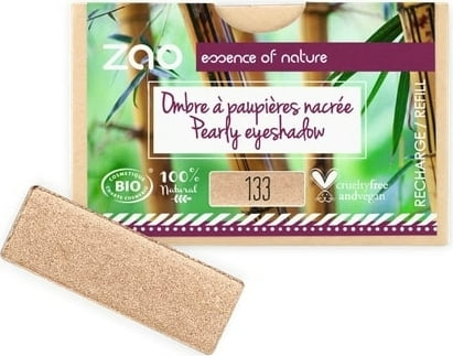 ZAO Refill Rectangle Eye Shadow - 133 Goldy von ZAO