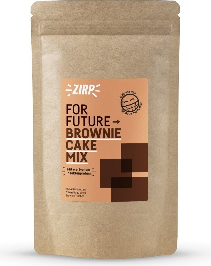 ZIRP Insects Brownie – Cake Mix - 400 g von ZIRP Insects