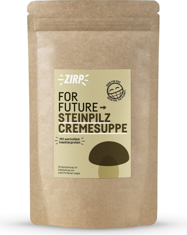 ZIRP Insects Steinpilzcremesuppe - 38 g von ZIRP Insects