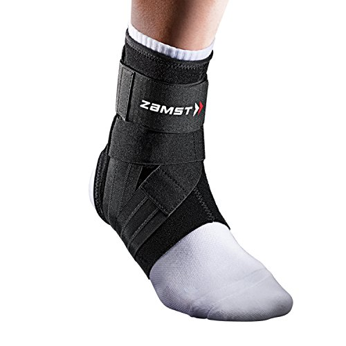 Zamst New A1 links Stützbandage Clothing Large weiß/violett von Zamst