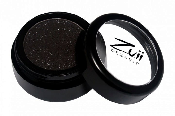 Certified Organic Flora Eye Shadow - Black Diamond (vegan) von Zuii ORGANIC