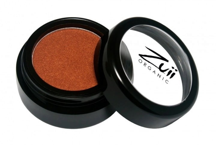 Certified Organic Flora Eye Shadow - Brownie (vegan) von Zuii ORGANIC