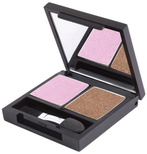 Certified Organic Flora Eye Shadow Palette Duo - Party von Zuii ORGANIC