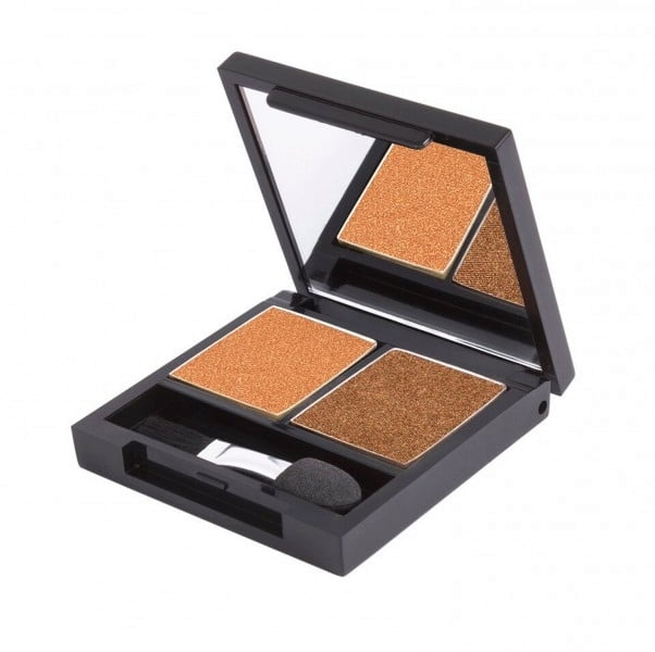 Certified Organic Flora Eye Shadow Palette Duo - Sunset (vegan) von Zuii ORGANIC
