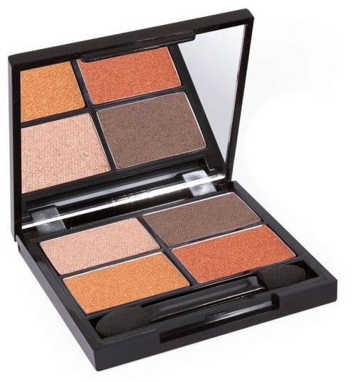 Certified Organic Flora Eye Shadow Palette Quad - Fresh von Zuii ORGANIC