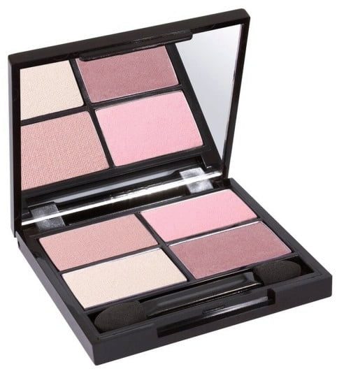 Certified Organic Flora Eye Shadow Palette Quad - Summer von Zuii ORGANIC