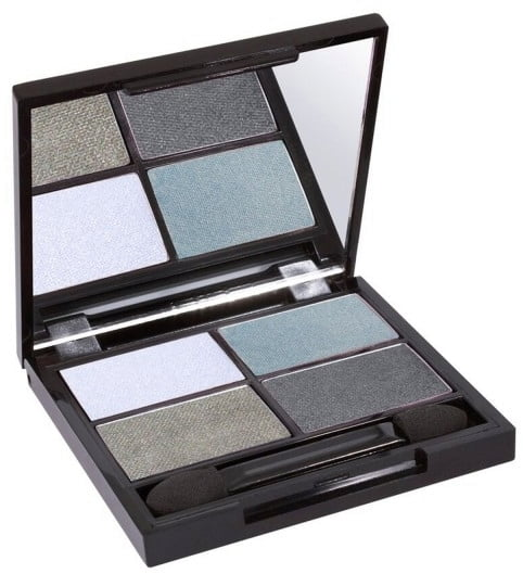 Certified Organic Flora Eye Shadow Palette Quad - Wave von Zuii ORGANIC