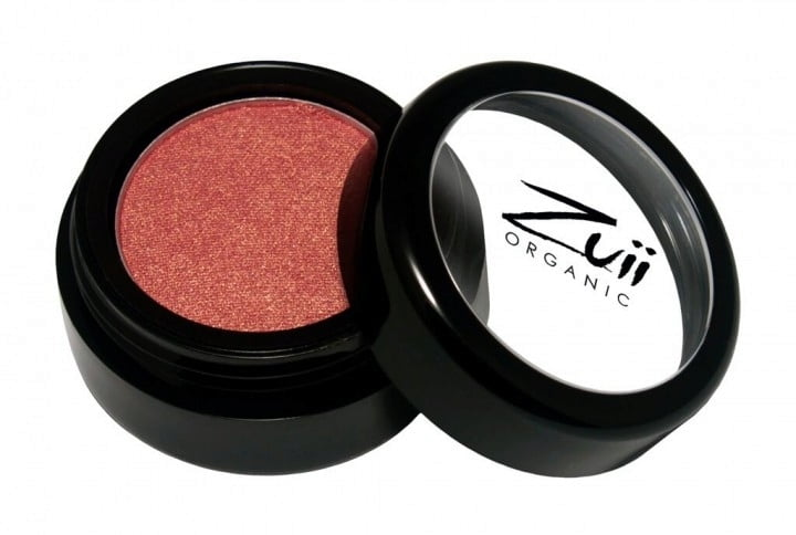 Certified Organic Flora Eye Shadow - Rose Mist von Zuii ORGANIC