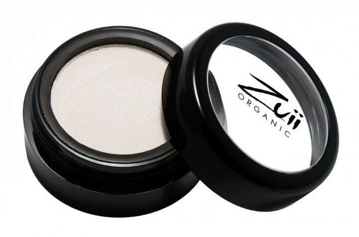 Certified Organic Flora Eye Shadow - White Diamond (vegan) von Zuii ORGANIC