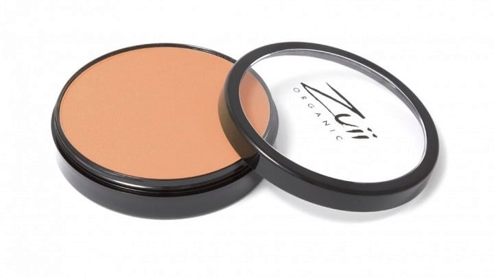 Certified Organic Flora Powder Foundation - Hazelnut von Zuii ORGANIC
