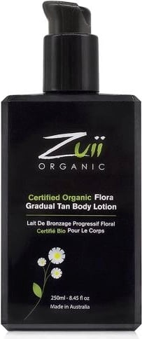Zuii ORGANIC Certified Gradual Tan Body Lotion - 250 ml von Zuii ORGANIC