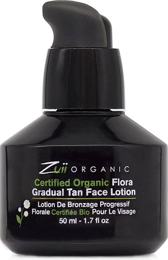 Zuii ORGANIC Certified Gradual Tan Face Lotion - 50 ml von Zuii ORGANIC