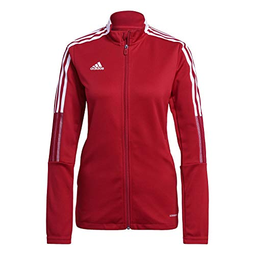 adidas GM7305 TIRO21 TK JKT W Jacket Womens Team Power red 2XL von adidas