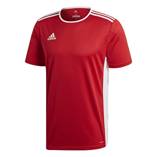 adidas Herren ENTRADA 18 JSY T-Shirt, Power red/White, L von adidas