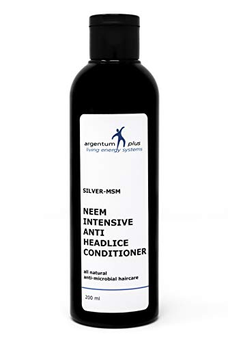 Silber-MSM Neem Intensiver Anti-Kopflaus Conditioner - 200 ml von argentum plus