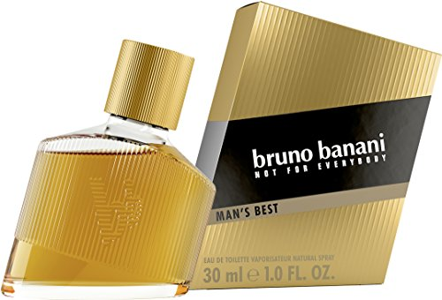 bruno banani Man's Best – Eau de Toilette Herren Parfüm Natural Spray – Eleganter, maskuliner Premiumduft für Männer – 1er Pack (1 x 30ml) von Bruno Banani Fragrance